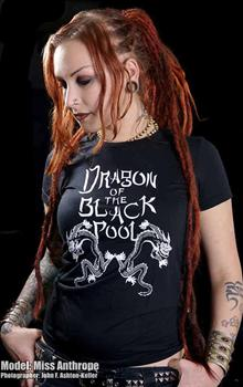 DRAGON OF THE BLACK POOL - Big Trouble girl fitted shirt
