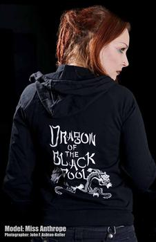 DRAGON OF THE BLACK POOL - Big Trouble zipper hoodies