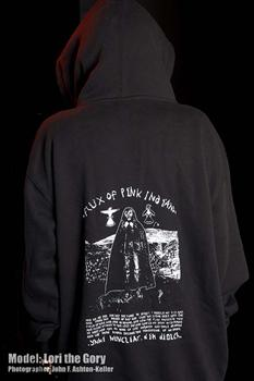 FLUX OF PINK INDIANS #2 - Graveyard zipper hoodie