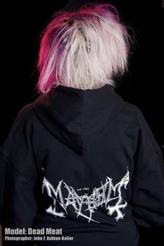 MAYHEM #1 - Logo (Revised) Zipper Hoodies