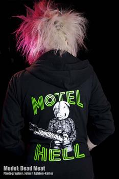 MOTEL HELL - Pigs Head Zipper Hoodies