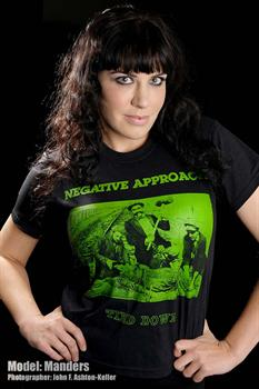 NEGATIVE APPROACH #3 - Tied Down T shirt