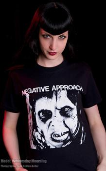 NEGATIVE APPROACH #2 - Cant Tell No One T shirt