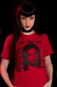 POISON IDEA #2 - Red Pick Your King T shirt