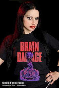 BRAIN DAMAGE - Elmer T Shirt