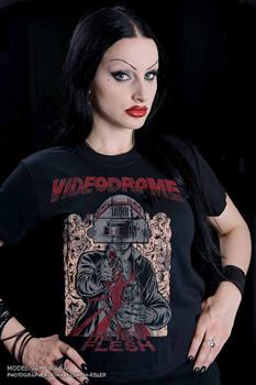 VIDEODROME - Long Live The New Flesh T shirt