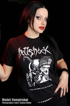 HELLSHOCK #1 - Only The Dead Know The End Of War T shirt