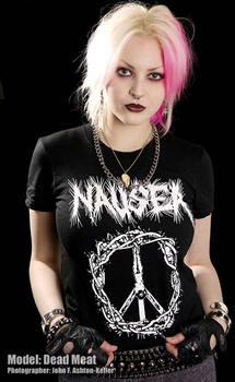 NAUSEA #2 - Crucified Jesus T shirt
