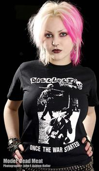 DISCLOSE #8 - Once The War Started T shirt