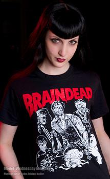 BRAINDEAD - Dead Alive Girls Fitted T-Shirt