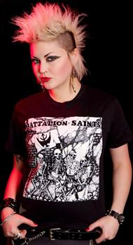 BATTALION OF SAINTS #1 - Fighting Boys Girls Fitted T-Shirt
