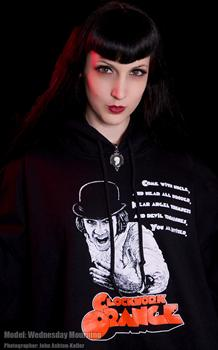 CLOCKWORK ORANGE #4 - Devil Trombones pullover hoodies