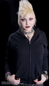 GHOUL #6 - As Your Casket Closes zipper hoodie