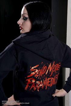 SEND MORE PARAMEDICS - zipper hoodie