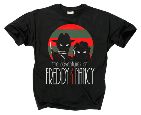 A NIGHTMARE ON ELM STREET - Adventures of Freddy and Nancy T Shirt
