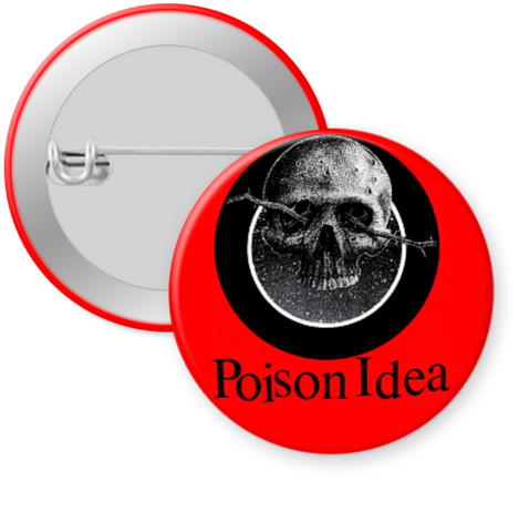 POISON IDEA-OFFICIAL BOOTLEG Button 1.25""