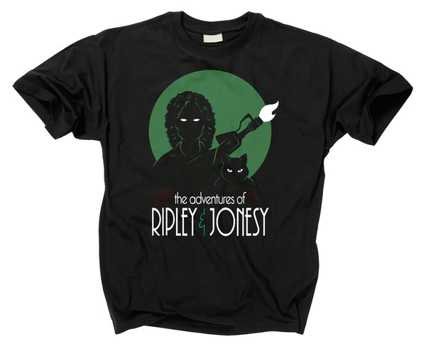 ALIEN - Adventures of Ripley and Jonesy T Shirt