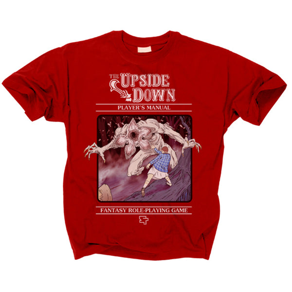STRANGER THINGS - The Upside Down RPG T Shirt