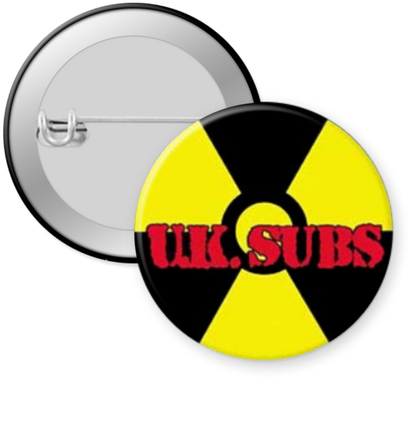 UK SUBS Button 1.25""