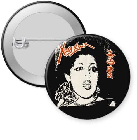 XRAY SPEX-BONDAGE UP YOURS Button 1.25""