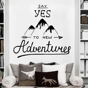 Vinilo Say yes to new adventures