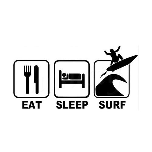 Vinilo Eat Sleep Surf