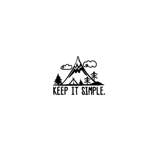 Vinilo Keep it Simple