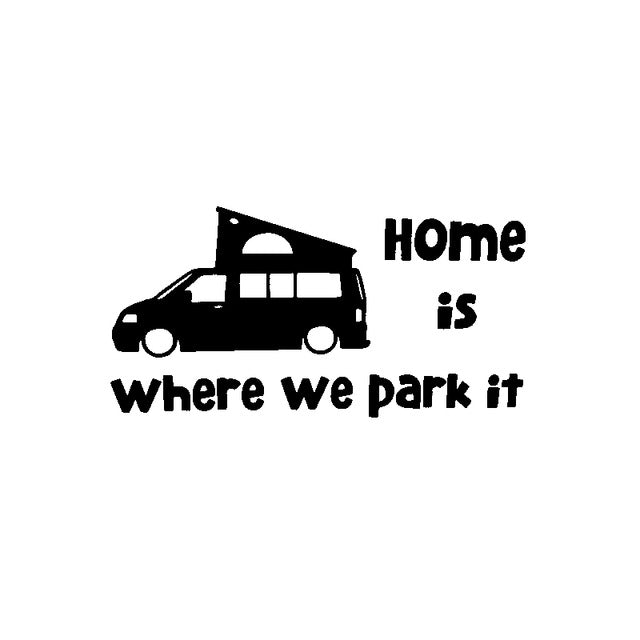 Vinilo Home is where we park it