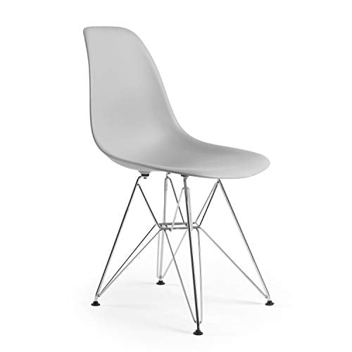 Poly and Bark Padget Side Chair in White