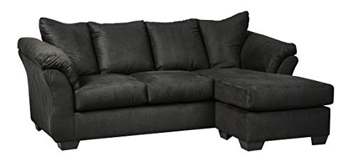 Ashley Furniture Signature Design - Darcy Sofa with Chaise - Contemporary Style Couch - Salsa