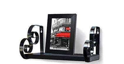 Giftgarden Wall Shelf Floating Shelves Includes 4x6 Picture Frame for Bathroom, Bedroom, Living Room, Kitchen, Office