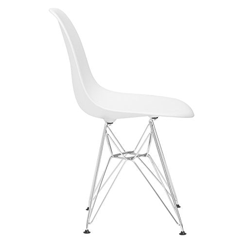 Poly and Bark Padget Side Chair in White img 2