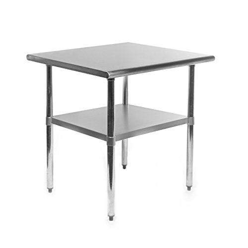 GRIDMANN NSF Stainless Steel Commercial Kitchen Prep & Work Table - 30 in. x 24 in. img 1
