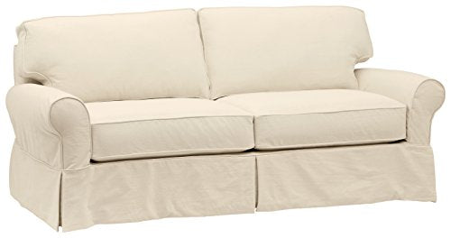 Stone & Beam Carrigan Modern Slipcover Sofa, 88.5