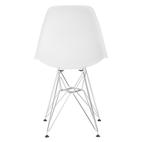 Poly and Bark Padget Side Chair in White img 3