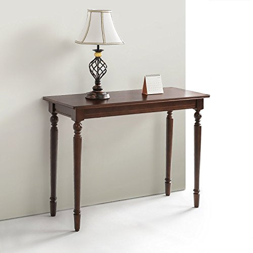 Zinus Zaalonge Bordeaux Wood Console Table / Entryway / Table img 1