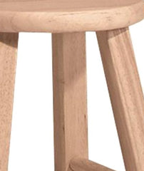 International Concepts 1S-518 18-Inch Round Top Stool, Unfinished img 2