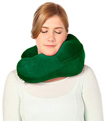 Headache & Migraine Pain Relief Pillow-Neck & Shoulder Stress Relief Pillow-Acupressure Tool-Emerald Green Neck Sofa img 1