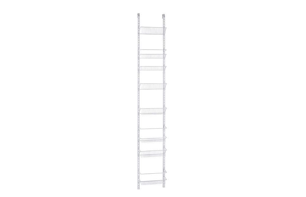 ClosetMaid 1231 Adjustable 8-Tier Wall and Door Rack Wide