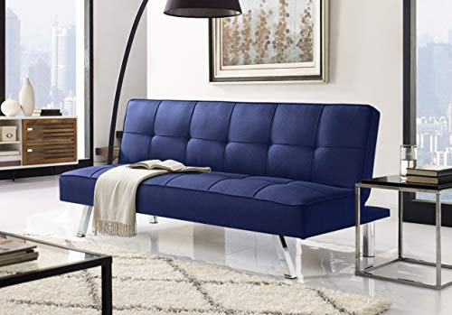 Serta RNE-3S-NB-SET Rane Collection Convertible Sofa, L66.1 x W33.1 x H29.5, Navy Blue img 1