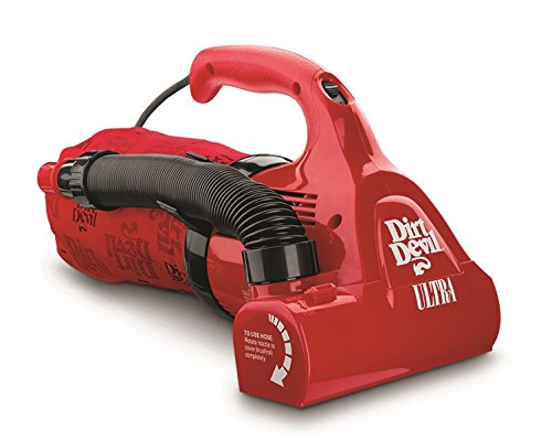 Dirt Devil Hand Vacuum Cleaner Ultra Corded Bagged Handheld Vacuum M08230RED