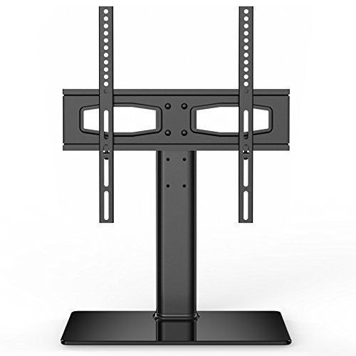 Fitueyes Universal TV Stand/Base Tabletop TV Stand with Mount for up to 50 inch Flat Screen Tvs Vizio/Sumsung/Sony Tvs/Xbox One/tv Components Max VESA