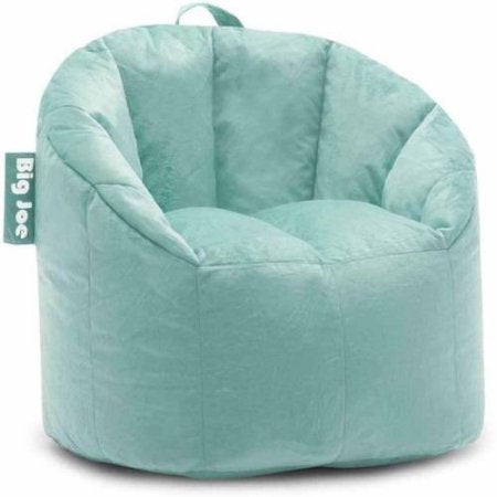 Big Joe Milano Bean Bag Chair | Filled with UltimaX Beans (Mint Plush) img 1
