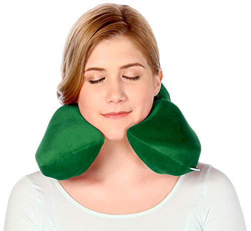 Headache & Migraine Pain Relief Pillow-Neck & Shoulder Stress Relief Pillow-Acupressure Tool-Emerald Green Neck Sofa img 5