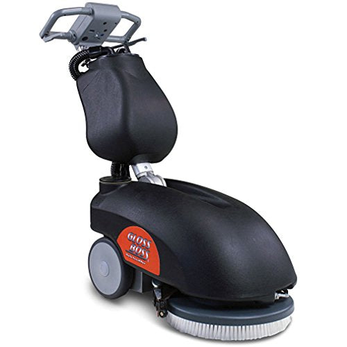Boss Cleaning Equipment B14100240 Gloss Boss Auto Scrubber, Battery Operated, GB1400B
