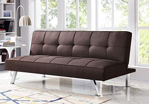 Serta RNE-3S-NB-SET Rane Collection Convertible Sofa, L66.1 x W33.1 x H29.5, Navy Blue