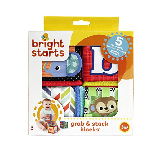 Bright Starts Grab and Stack Block Toy