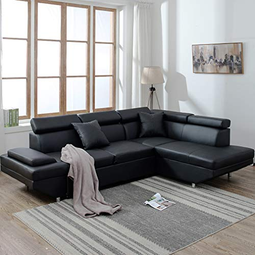 Sofa Sectional Sofa Living Room Furniture Sofa Set Leather Futon Sleeper Couch Bed Modern Contemporary Upholstered img 1