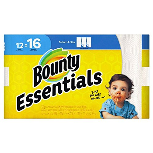 Bounty paper towels, 12 pack