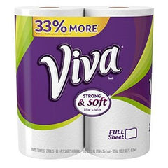 Viva Paper Towels, Big Roll, 2 Count - 12 Pack